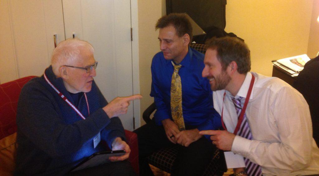 Ed Bruner chats with Quetzil Castañeda and Michael Di Giovine